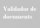 Validador documents